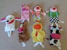 Ikea Hand Puppets x 7