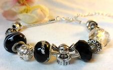 Liebe & Herzen Modeschmuck-Armbänder mit Strass-Perlen für Damen