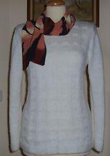 Hüftlange Damen Pullover & Strickware mit Rundhals