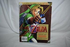 Rare 1998 The Legend of Zelda Ocarina of Time Official Nintendo 64 Players Guide