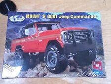 Mount 'N Goat Jeep Commando 1:25 Scale - AMT ERTL NEW #38555