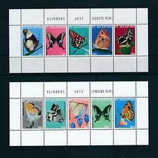 [SM302] St. Martin 2015 Insects butterflies schmetterling 2 Miniature sheets MNH