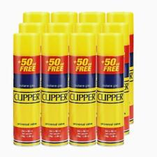 Clipper Butane Gas Refill, 250ml - 12 Pack