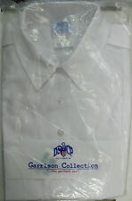US ARMY WOMAN'S ASU WHITE 521 SHORT SLEEVE SHIRT 20R BUST 45 TUCK-IN NWT IN BAG