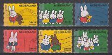 NVPH Nederland Netherlands nr 2370 a - 2370 f used Kinderzegels 2005 Nijntje