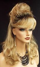 Becky Wig CUTE WAVY STYLE BLOND HIGHLIGHTED ROOTED  R20RT8 NIB W/TAGS *