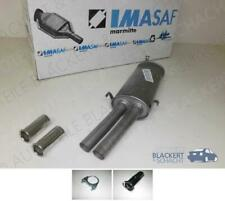 IMASAF ESD Auspuff Endtopf+Anbauteile für Maserati 228 2.8+2.8 i+Chromblenden