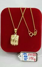 Gold Authentic 18k gold necklace