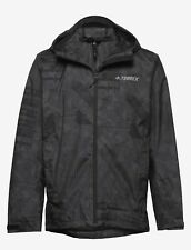Adidas TERREX CAMO RAIN JACKET sz XL BRAND NEW RETAIL 200$  product code  FI2424
