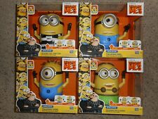 Despiccable Me 3 Deluxe Talking Minions Lot of 4 Carl, Mel, Hula Dave, Jail Tom