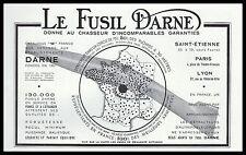 Publicité Darne Fusil de Chasse Chasseur vintage print ad    1936 - 2h