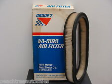 Group 7 VA3193  AIR FILTER ELEMENT 1981-86 FORD MERCURY ESCORT EXP LYN