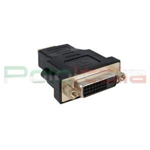 Adattatore da DVI-D dual link 24+1 pin femmina a HDMI maschio convertitore cavo