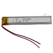 3.7 V BATTERIA ai polimeri di Li 150 mAh per Mp4 Cuffie Bluetooth GPS Penna Occhiali 301055