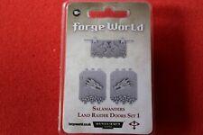 Games Workshop Warhammer 40k Salamanders Land Raider Doors Forgeworld BNIB OOP