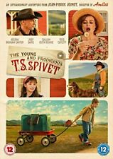 The Young and Prodigious T S Spivet [DVD] By Helena Bonham Carter,Robert Mail.