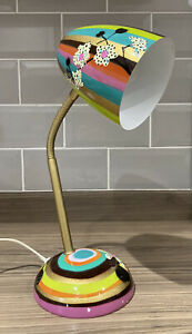 Pylones Globetrotter Multi Colour Orchid Adjustable Spotlight Desk Lamp France