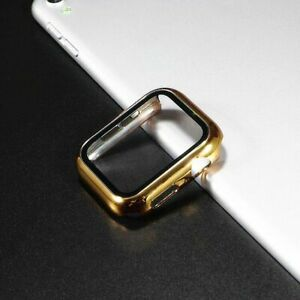 Screen Protector Apple Watch Accessories Durable Plastic Case 44mm 40mm 42mm