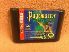 Pagemaster *Authentic* Original Sega Genesis Game FREE SHIP!