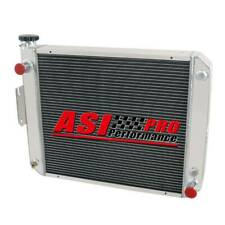 4 Row Aluminum Radiator For Hyster Yale Forklift H45-65Xm Models 1337002,2037521