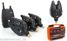 Fox Micron Mr Plus Including Hardcase / Alarms & Recevier Set / 4 Rod / Fishing