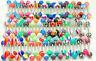 "30 Pc Mixed Design U.V. Acrylic Ball Tongue Rings 14g 5/8"" (16mm)"