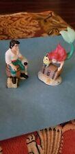 2 Disney Lil Classics Little Mermaid Ariel & Prince Eric Figurines
