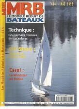 MODELE REDUIT DE BATEAU N°414 GOUVERNAILS, FERRURES SANS SOUDURE / WINDSTAR