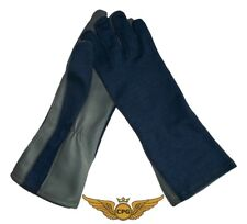 NOMEX Military Pilot, aviation, flight, tactical gloves - NAVY blue