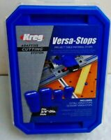 Kreg ACS435 Adaptive Cutting System Versa-Stops - 4-Pack NEW