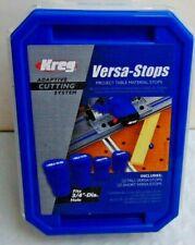 Kreg ACS435 Adaptive Cutting System Versa-Stops - 4-Pack NEW