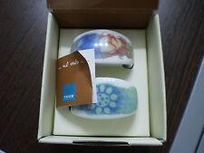 Porta tovaglioli thun completi con scatola serie ..Al volo poesia art P209A91