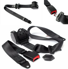 Adjustable Retractable 3 Point Auto Car Vehicle Safety Seat Belt & Diagonal Belt
