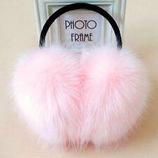 Large Faux Fur Earmuffs Warm Women Girls Fluffy  Ears Cover Winter Earwarmer New