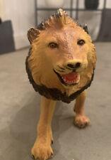 "Retro Vintage Ankyo Lion Animal 12"" Hard Plastic Toy Zoo Figure Collectible"