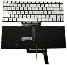 for MSI GS65 GS65VR MS-16Q1 P65 Silver US Laptop Keyboard With Backlit