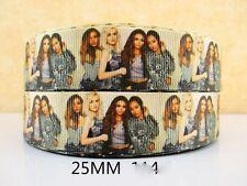 1 METRI nastro Little Mix NUOVA MISURA 1 in (ca. 2.54 cm) Fiocchi Fasce Capelli Di Bambino Fiocchi Per Torte