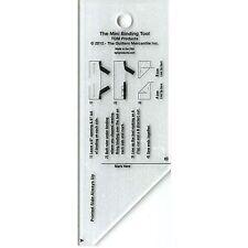 "The MINI Binding Tool Template Ruler 2"" x 5"" by TQM"