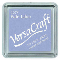 VERSACRAFT INK PAD SMALL CUBE PIGMENT INK PADS. CHOICE of 32 COLOURS. FREE POST
