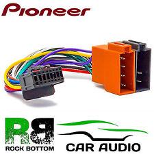 Pioneer fh-p80bt Modell Auto Radio Stereo 16 Pin Kabelbaum Loom ISO führen
