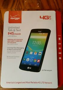 NEW LG Transpyre - 8GB - Black (Verizon) -