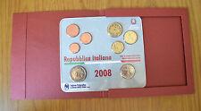 SERIE UFFICIALE COMPLETA ITALIANA 8 MONETE EURO 2008 IPZS