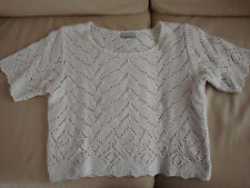 PULL AJOURE - 3 SUISSES - TAILLE 40