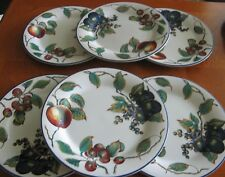 Set of 6 Pier 1 Imports MACINTOSH Dinner Plates