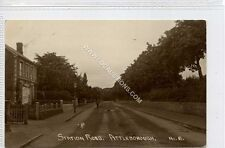 More details for (ga1084-176) real photo of station road, attleborough, norfolk c1910 used vg+