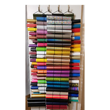 Vinyl Roll Holder, Diamond Painting Storage,The Roll Keeper, Gray, Large 24 Roll