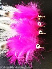 4 PINK THINGS SALTWATER FLY FISHING FLIES