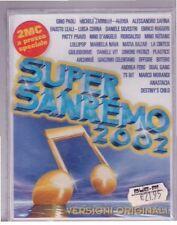 SANREMO 2002 DOPPIA MC SIGILLATA SEALED A1