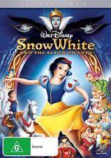 Snow White And The Seven Dwarfs DVD Disney 2-Disc Set New Sealed Australia Reg 4