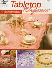 TABLETOP ELEGANCE Doilies Tablecloth Crochet Patterns